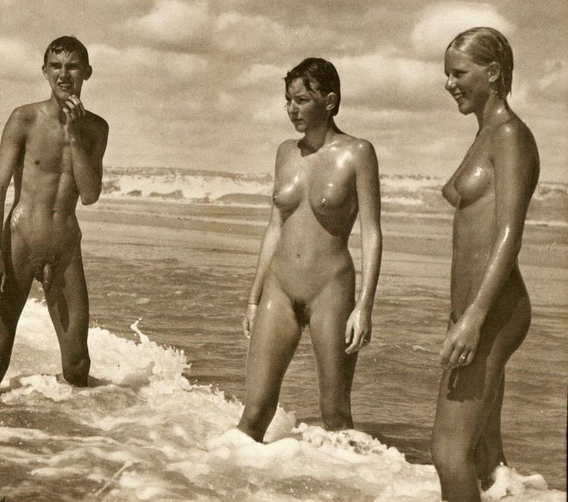 For that amazing retro naturist nude videos