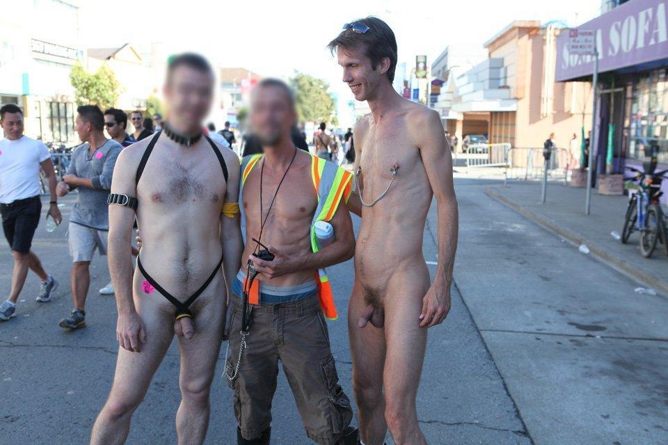 Nude public exhibition