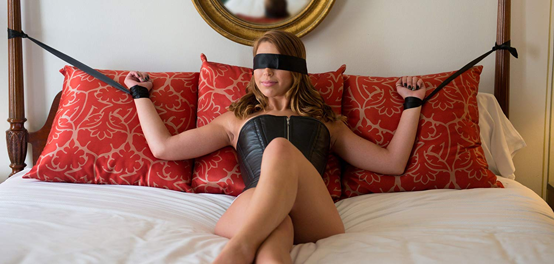 Erotic Tied To Bedpost
