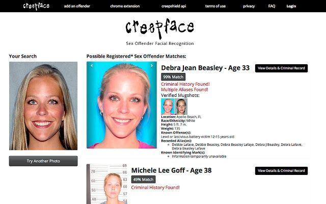 Pocky reccomend Facial recognition image search
