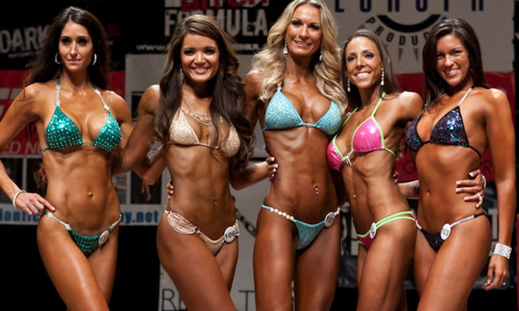 Fitness competitor porn