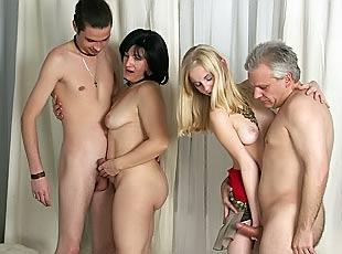 Amateur swingers party private