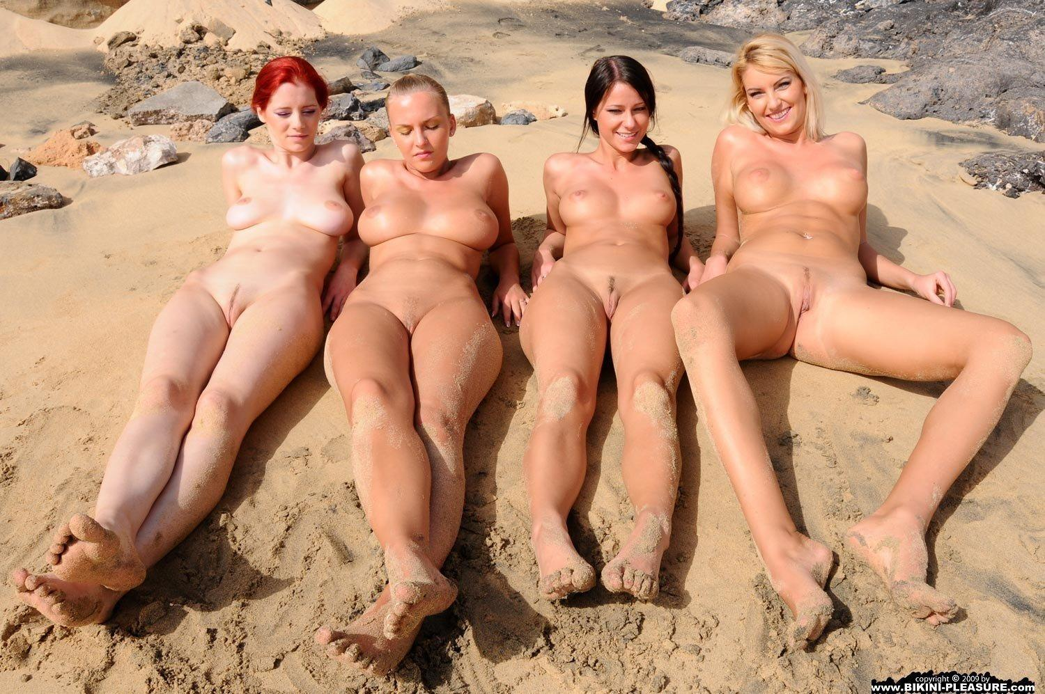 Wife topless with friends apologise