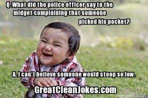 Funny midget jokes