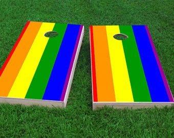Cat's E. reccomend Gays pack the corn hole