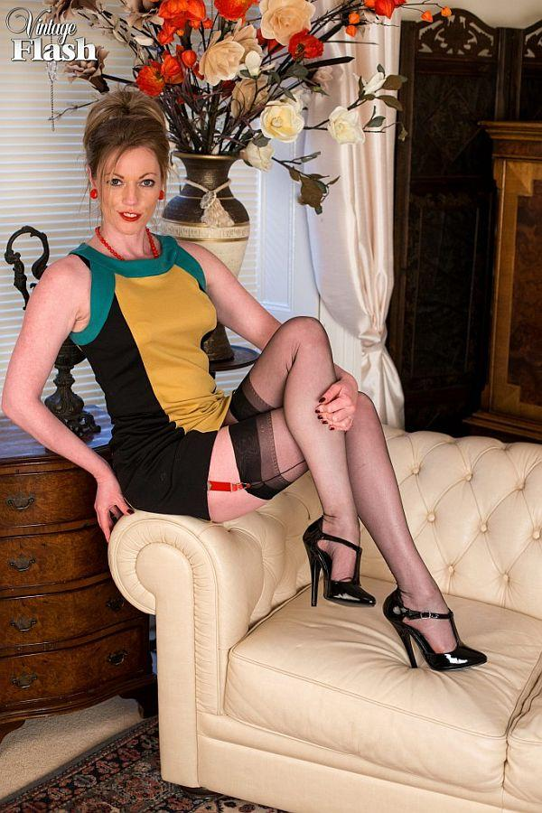Milf nylons stockings