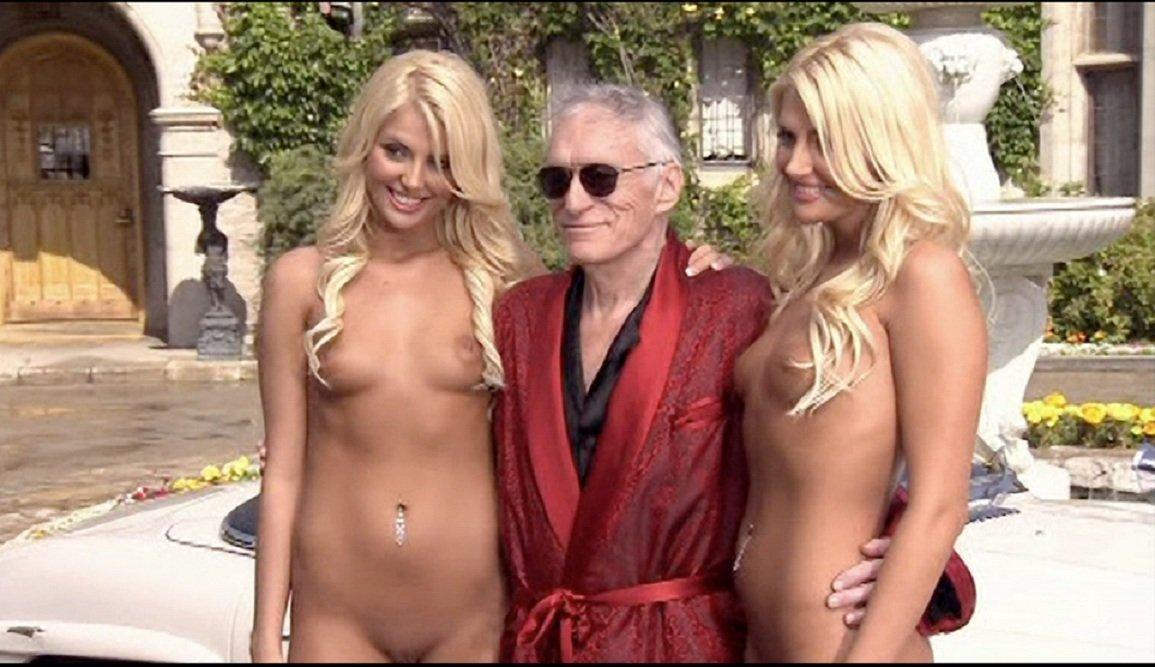Hefner twins naked
