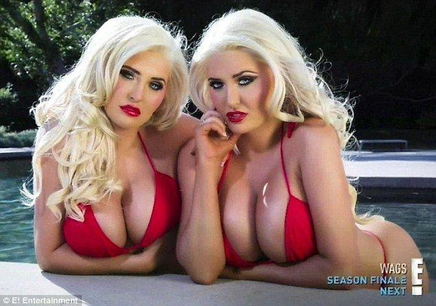best of Naked Hefner twins
