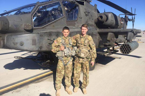Helicopter pilot having sex