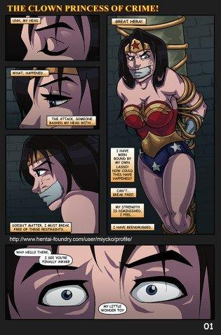 cartoon wonder woman hentai