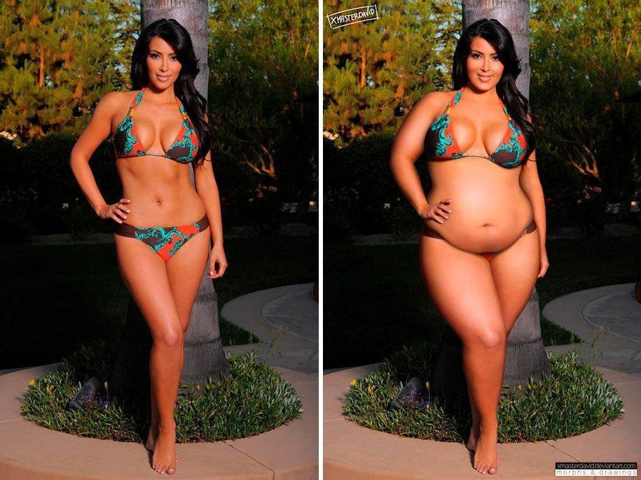 Hot chubby celeberties
