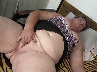 chubby grandmas Hot white