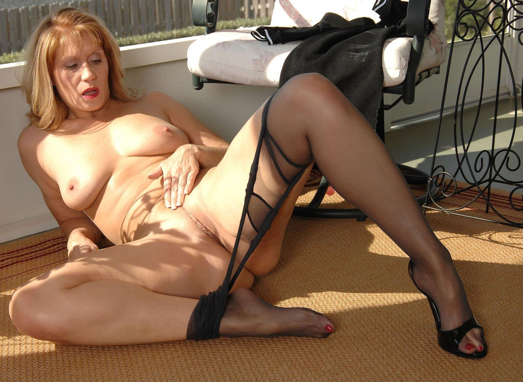 Mature pantyhose sex xxx
