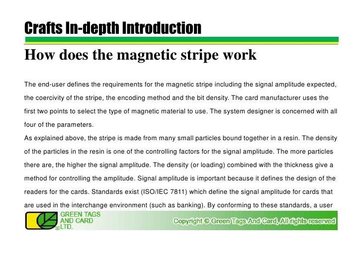 Bull reccomend How magnetic strip readers work