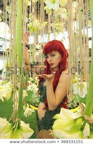Redhead bush ass
