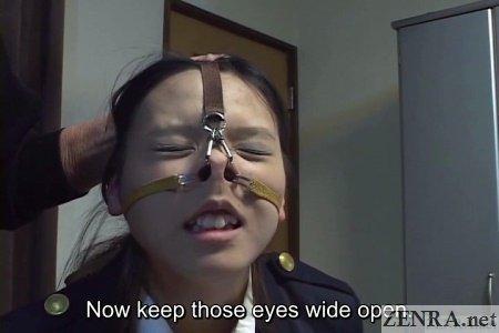 Japan femdom nose hook