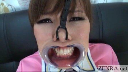 best of Nose hook femdom Japan