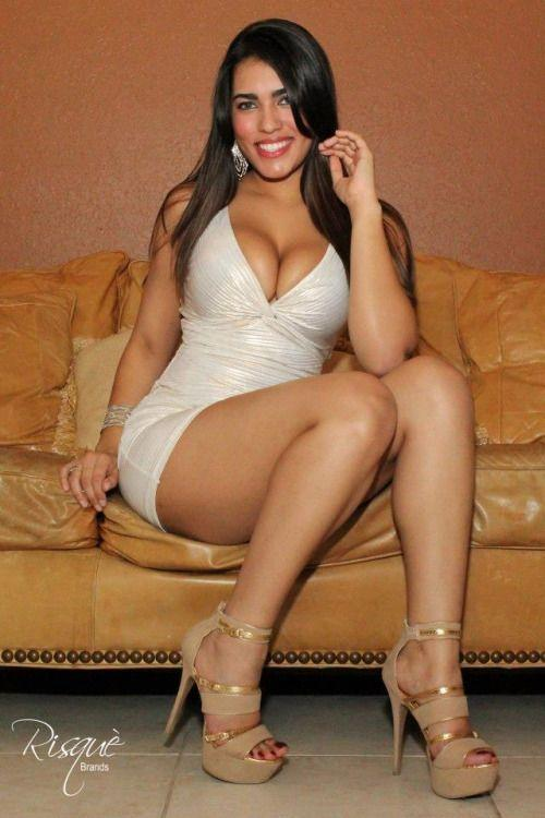 In hot sexy chick dress latina