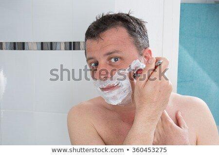 Lesbian shave shower