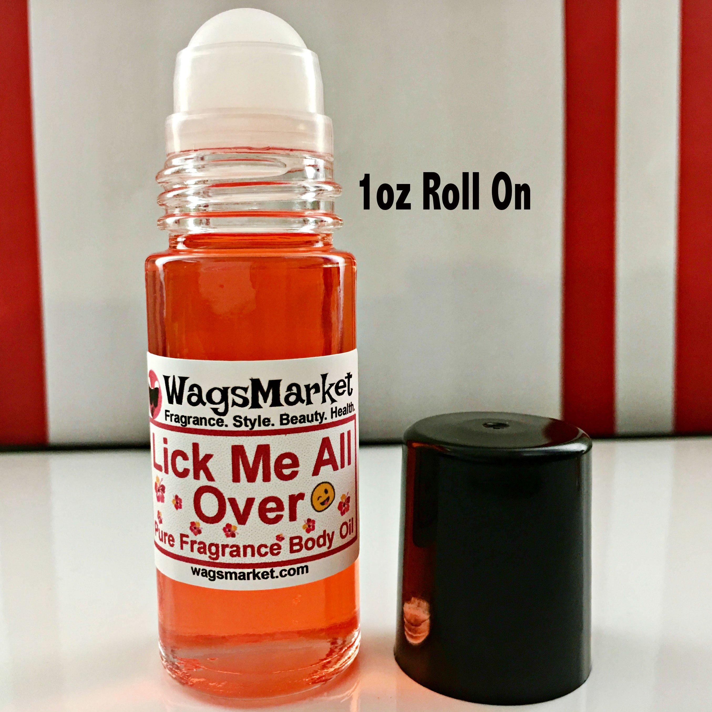 Radar reccomend Lick me all over body oil
