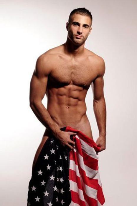 Man sexy stripper