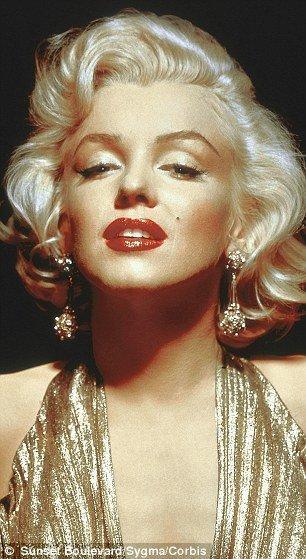 Marilyn monroe facial hair