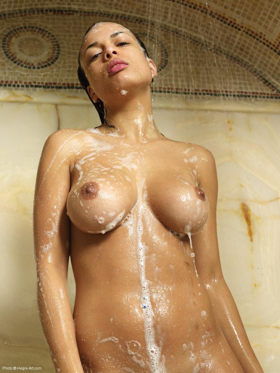 shower Erotic nude