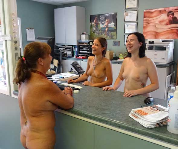 Mormons at nudist camps