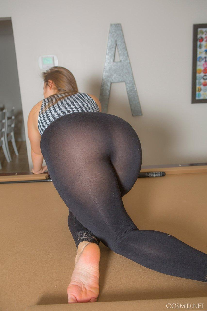 Can Chunky women yoga nude