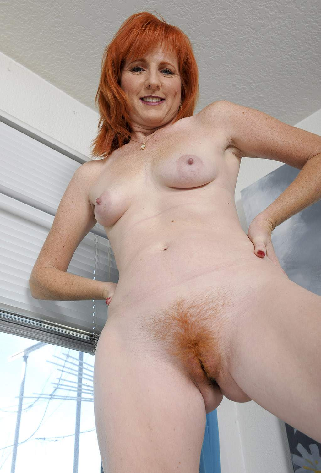 Naked hairy cougars