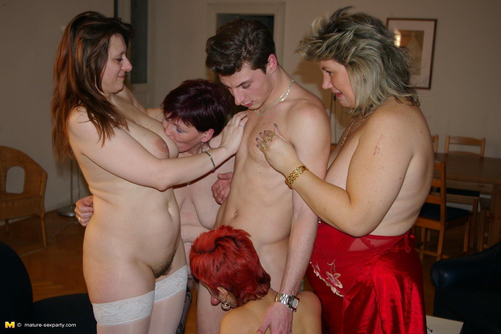 Gorgeous women giving hand job