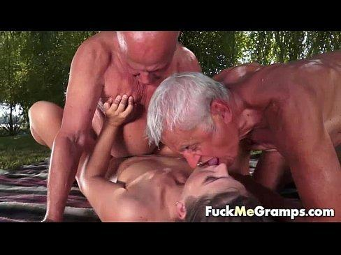 best of Threesome Outdoor older