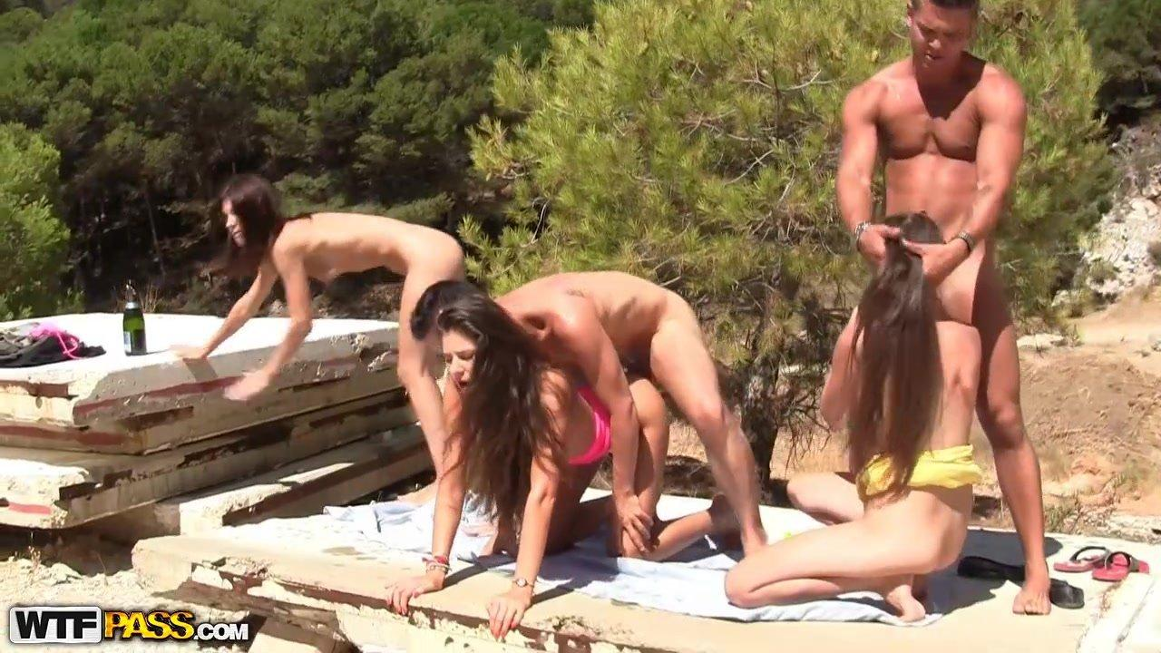 best of Orgy Outdoor pics porn