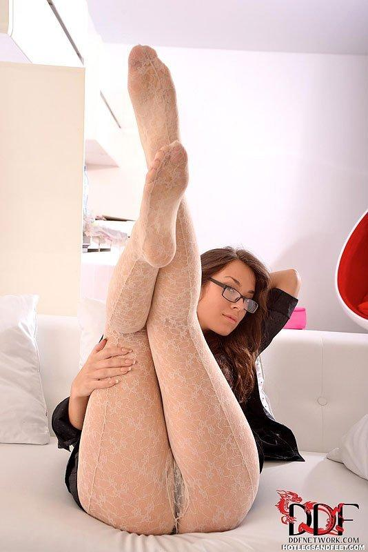 Legs and footjob hot feet