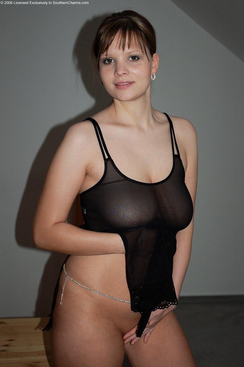 huge boobs white bikini pics