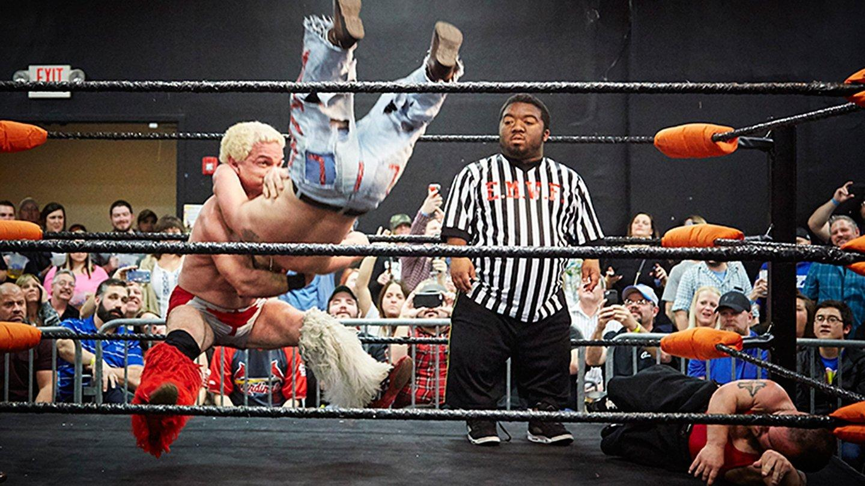 Wishbone reccomend Professional midget wrestling