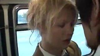Public. Blonde adult video