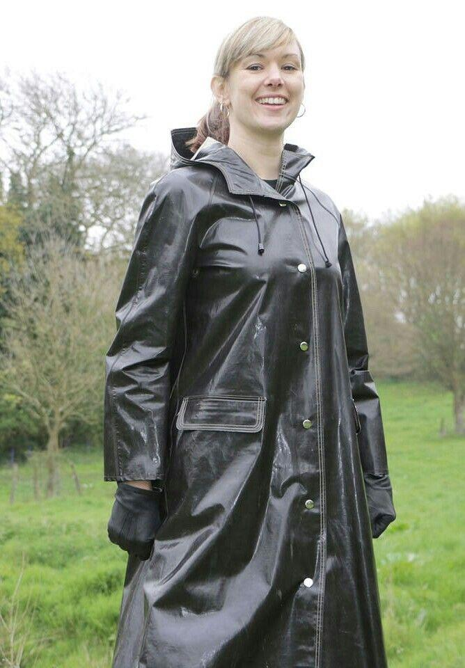 Rain coats fetish