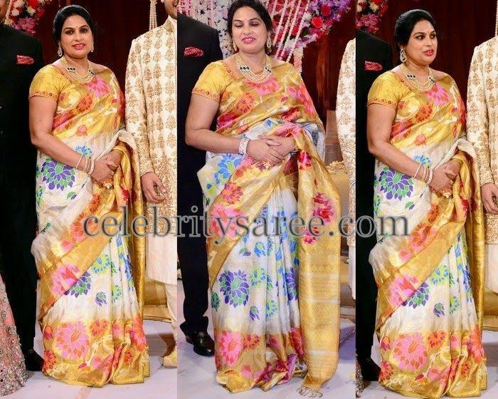Saree blouse domination