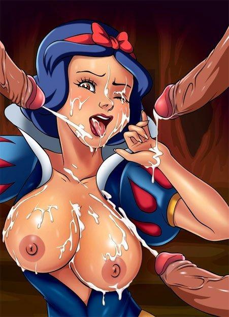 Snow white is naked words... fantasy