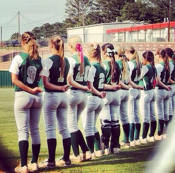Ass pics softball college girls hot