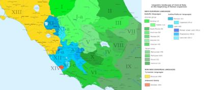 Roma reccomend Who were the latins