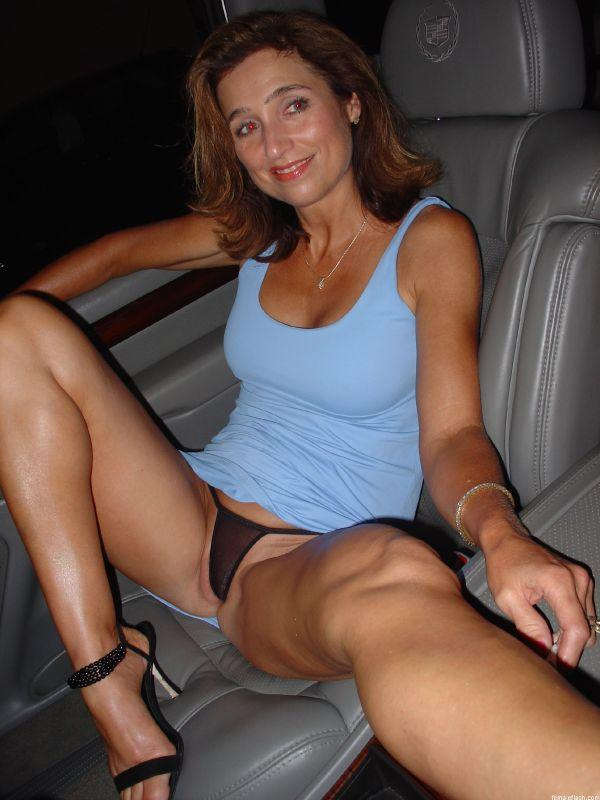 Wife upskirt in public