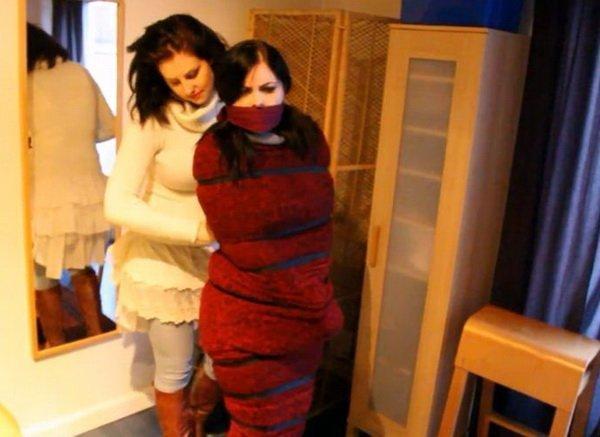 Rabbit reccomend Wool blanket bondage and mummification